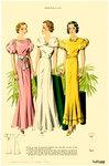 Женская мода 1930 года