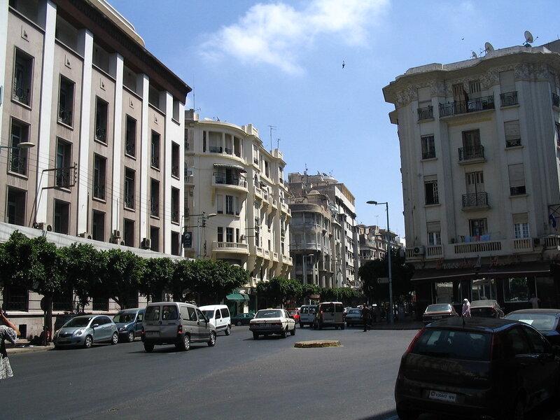 Дома и улицы Касабланки