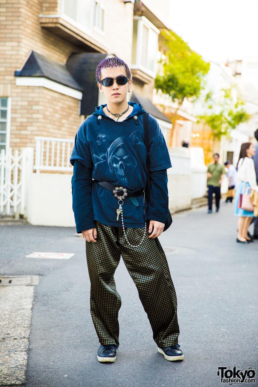 Модные персонажи на улицах Токио (08.07.17)