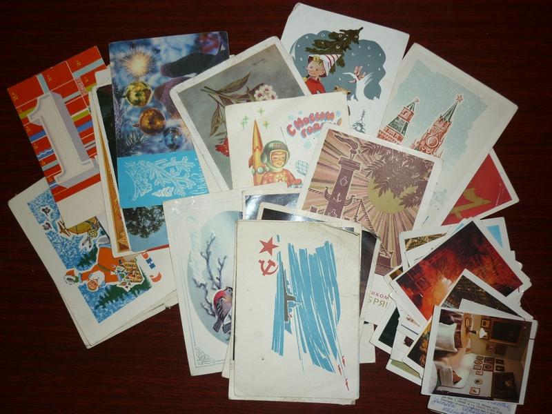 Вишенка, как хранят коллекцию открыток