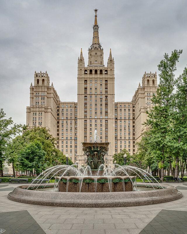 сталинские высотки. фотосъемка недвижимости