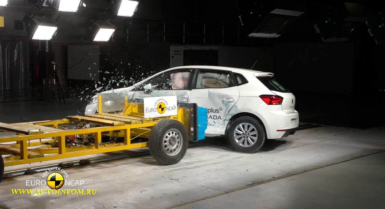 Full Crash Test Seat Ibiza 2017