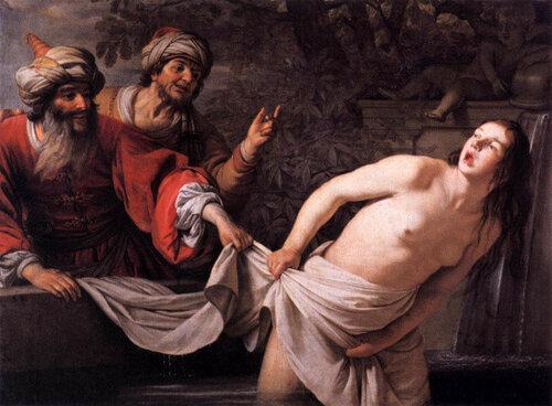 Gerrit van Honthorst Сусанна и старцы