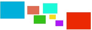 День почты! Конверты разноцветные