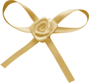 желтые банты