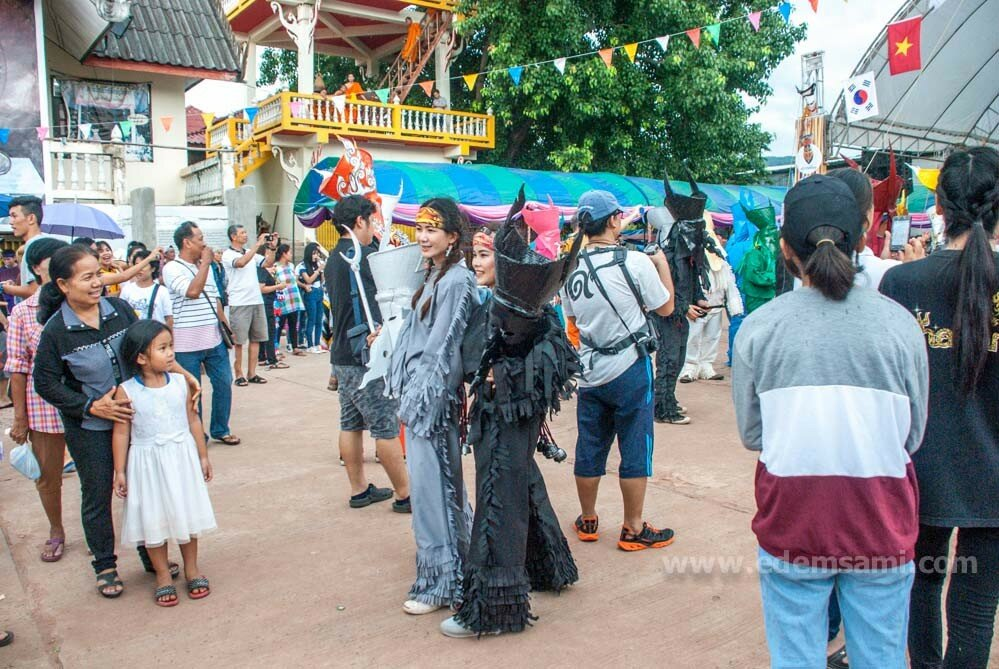 Фестиваль Пхитакхон Таиланд Дансай