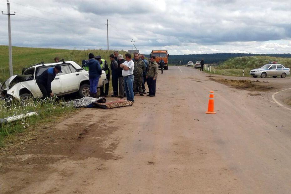 Встолкновении с Toyota Corolla вБашкирии погиб водитель «ВАЗа»