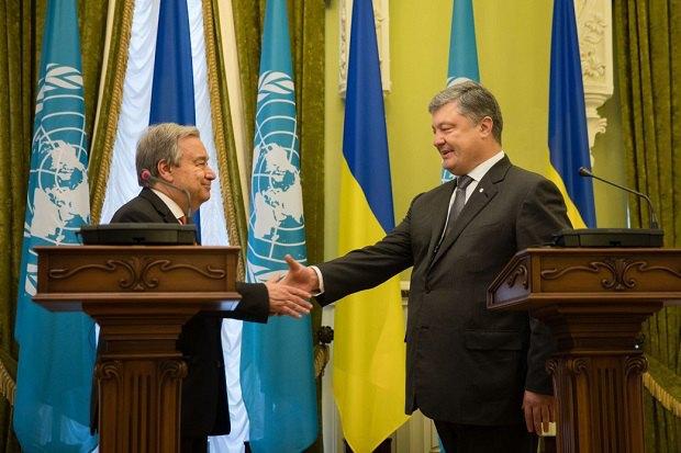 Благодаря ООН, нам удалось посодействовать 2,6 миллионам человек— Порошенко