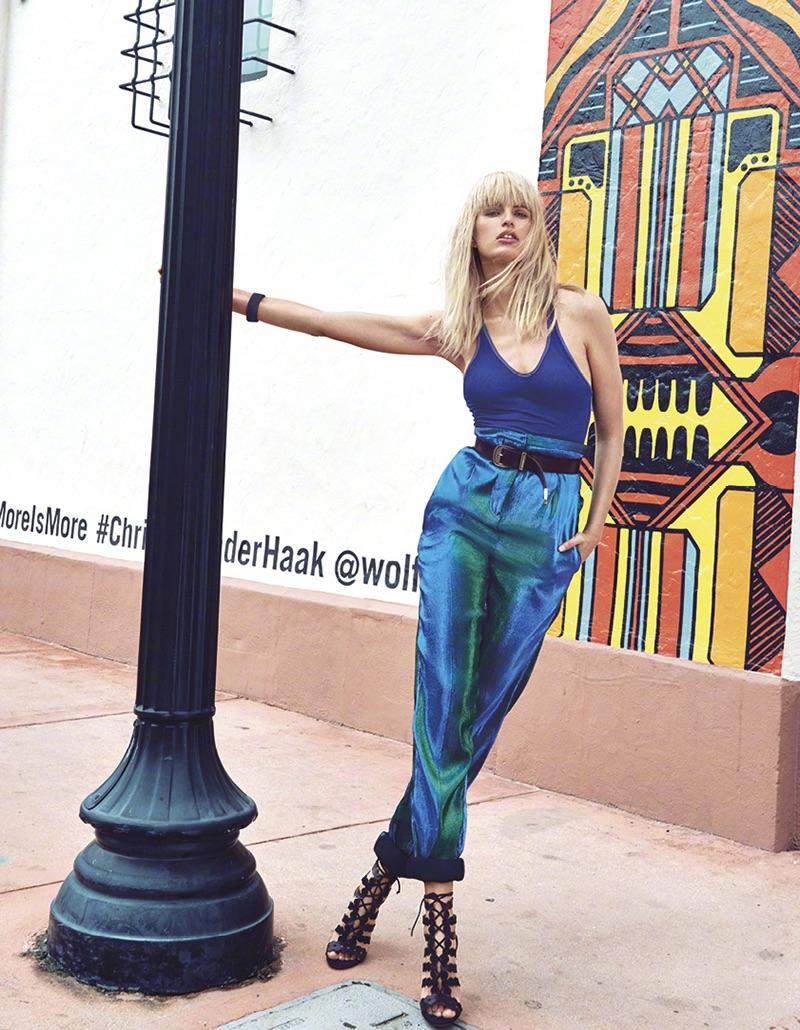 Каролина Куркова в Harper's Bazaar