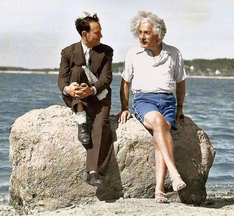 Альберт Эйнштейн, лето 1939 года.
