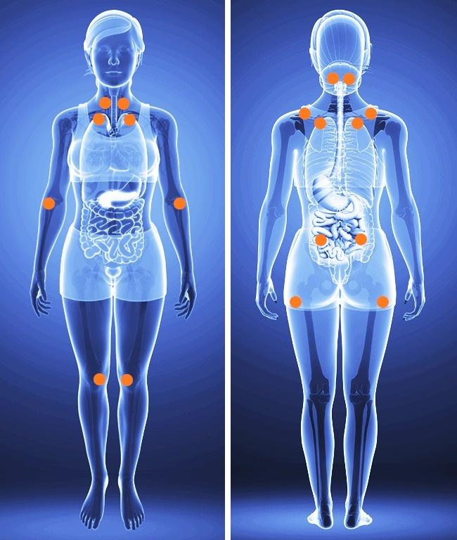 Если беспокоят боли вовсем теле, эти 12симптомов должны вас насторожить (5 фото)