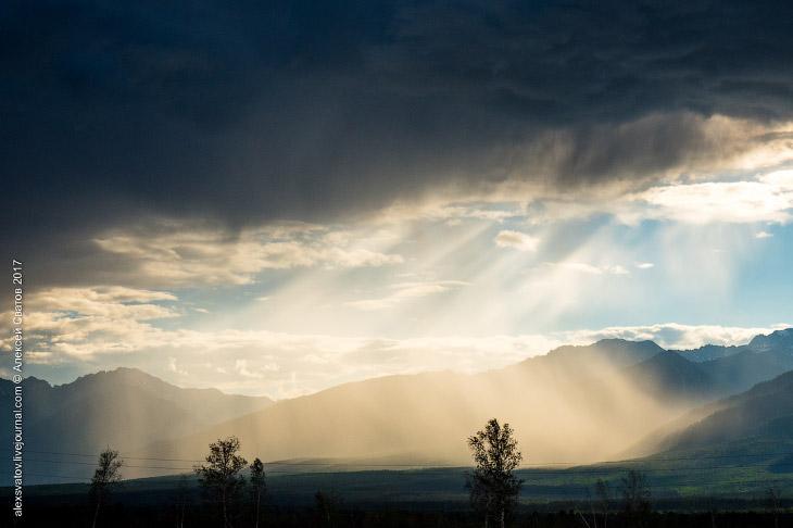 2. По всей баргузинской долине мы встречаем напоминания о великом йогине, покровителе Баргузинской д