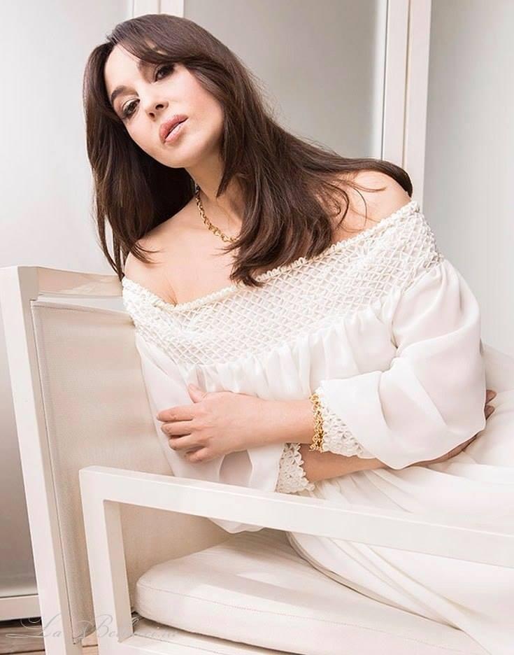 Моника Беллуччи для французского Elle (4 фото)