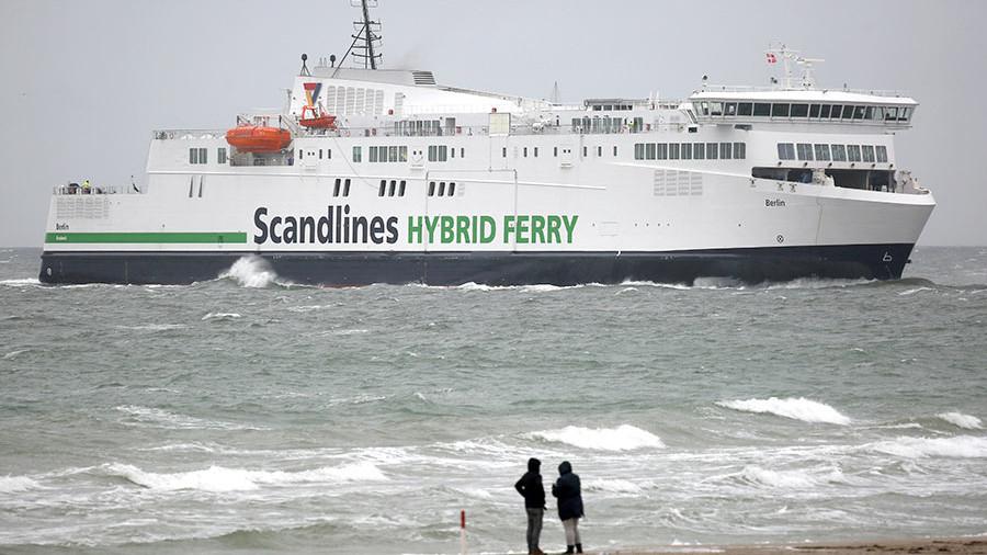 Scandlines остановил паромное сообщение между Данией иГерманией