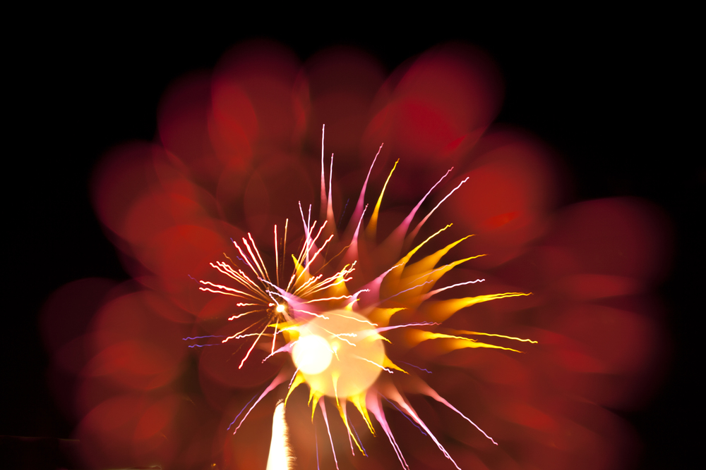 Explosions in the Sky: Macro Photographs of Fireworks by Nick Pacione