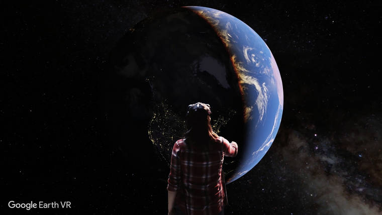 Google Earth VR – Flying over the entire world thanks to virtual reality (12 pics)