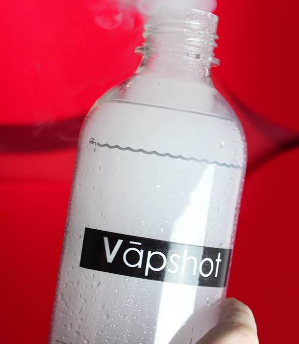 Vapshot – A 700$ machine for inhaling alcohol? (5 pics)