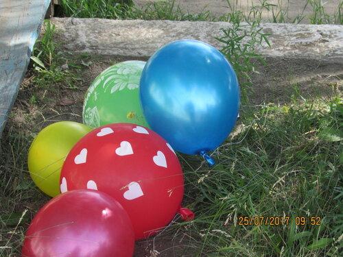В детском саду «Пчёлка» в подготовительной  группе прошел праздник воздушных шаров