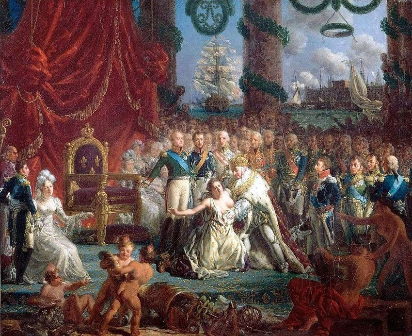a brief history of france overthrowing its bourbon king The result was a sort of republican-kingdom of france with louis philippe the bourbon flag would never fly over france king louis philippe i.