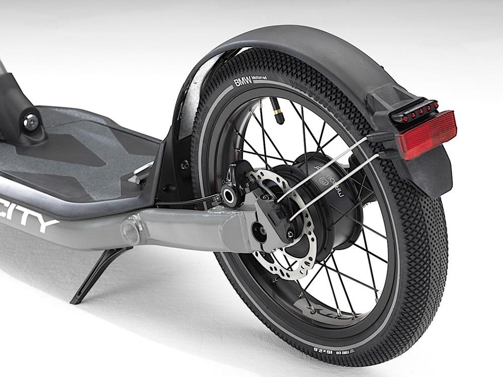 Электроскутер BMW X2City