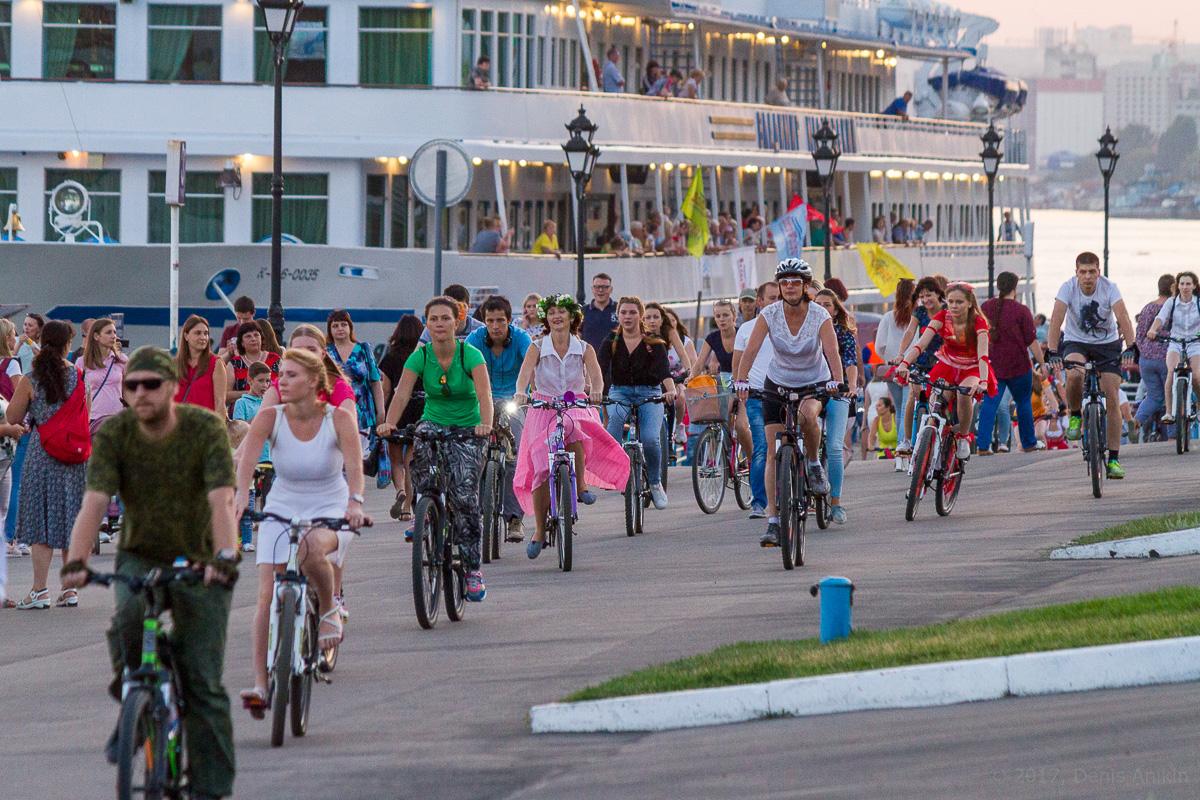 велопарад Леди на велосипеде фото 5