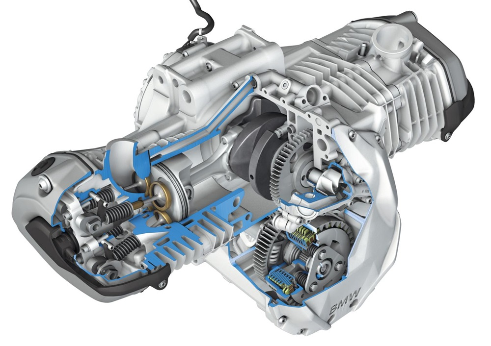 Новое поколение BMW R1200GS может получить систему VVT