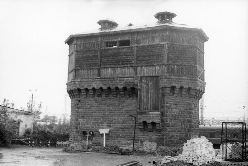 Водонапорная башня на вокзале