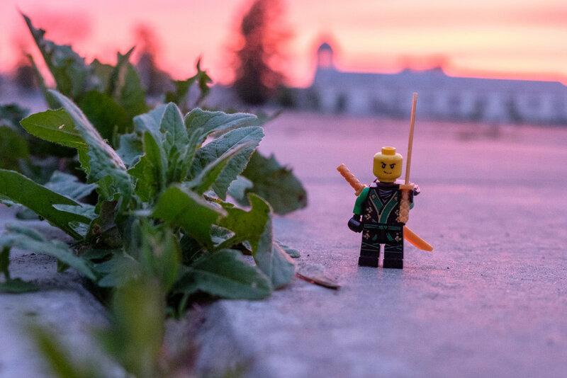 Фотографии храмовой площади, игрушка lego на мостовой храмовой площади в Каменске-Уральском
