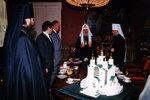 Делегация из Калининграда на приеме у Патриарха Московского и всея Руси Алексия II.