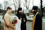 9.02.2000 г., Встреча епископа Меркурия после хиротонии.