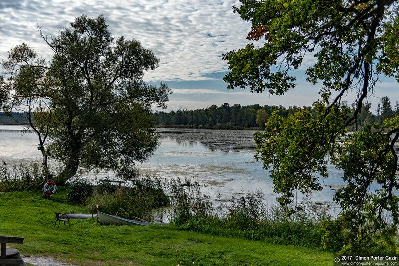 Швеция. Замок Экебюхольм