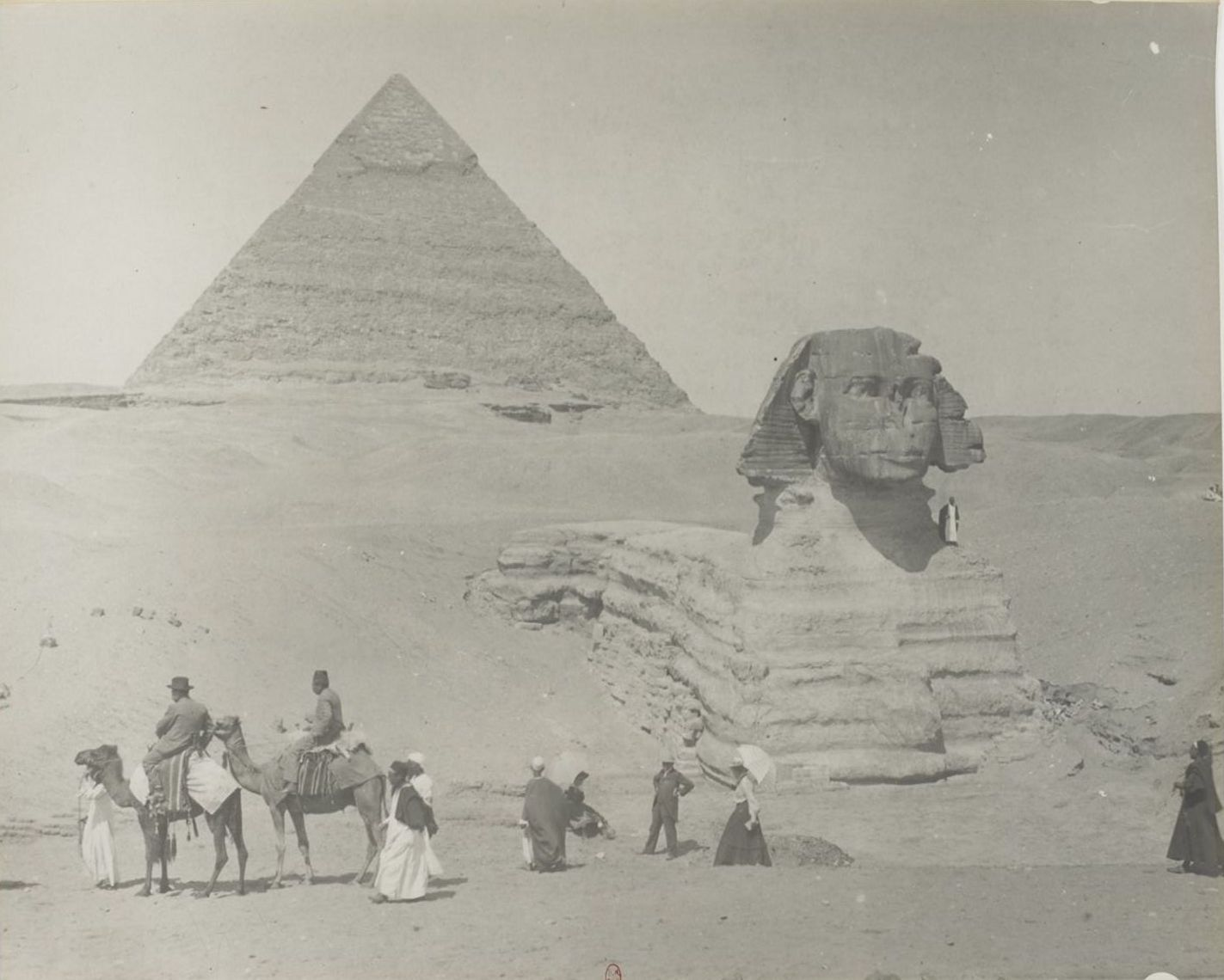 Гиза. Сфинкс и пирамиды. 1900-е