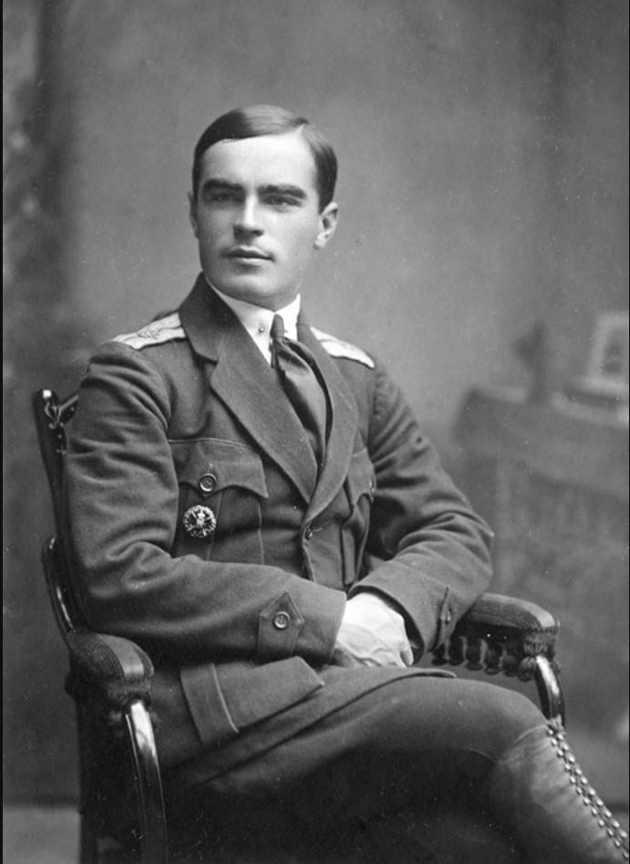 Военный летчик 4-го Донского самолетного отряда прапорщик Ф.М. Баранов. 1919
