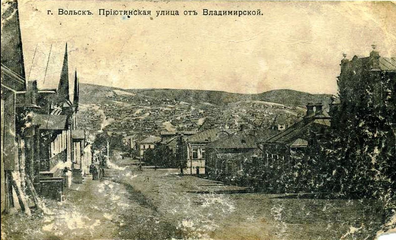 Приютинская улица от Владимирской