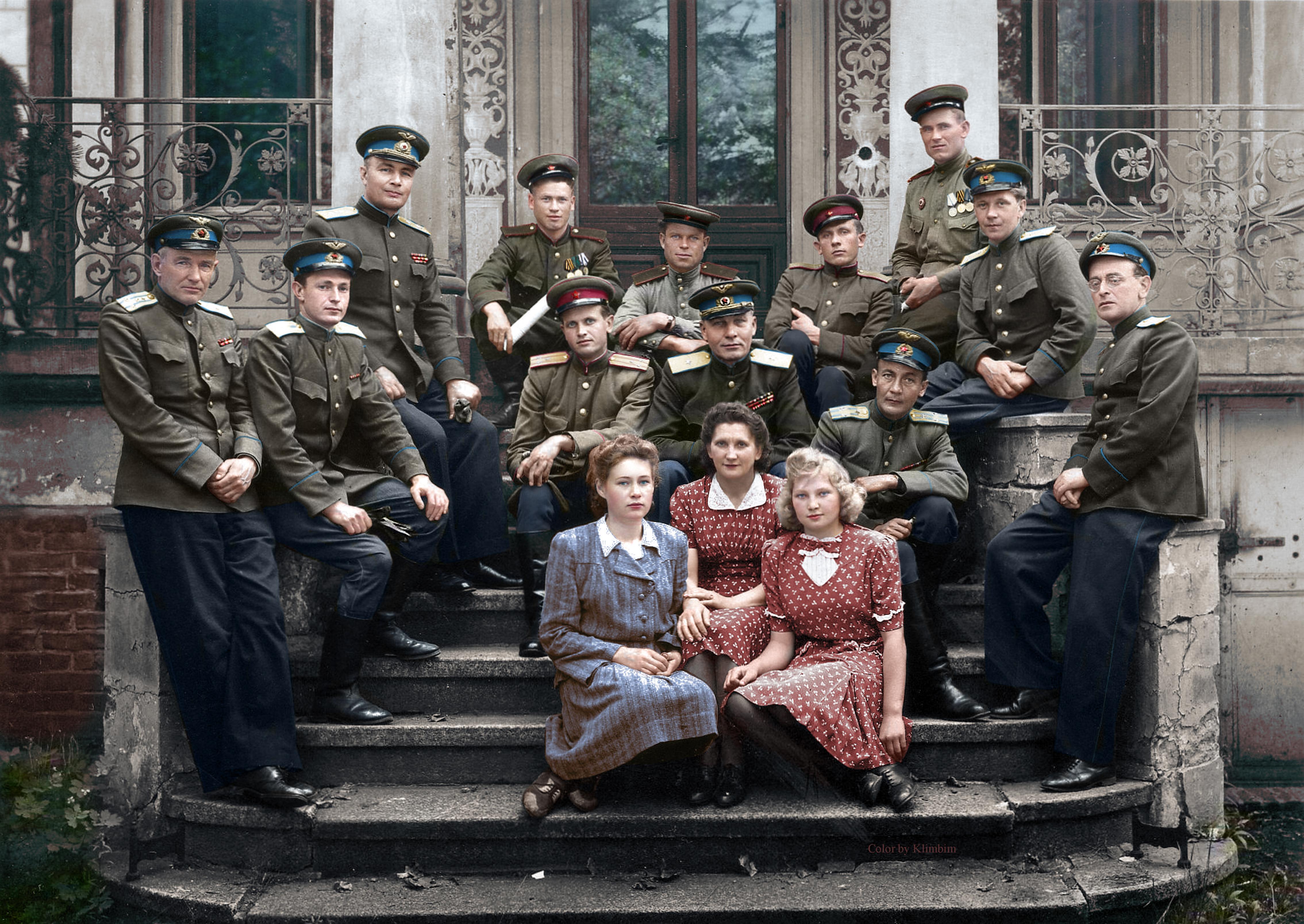 Советские офицеры в Германии, 1946