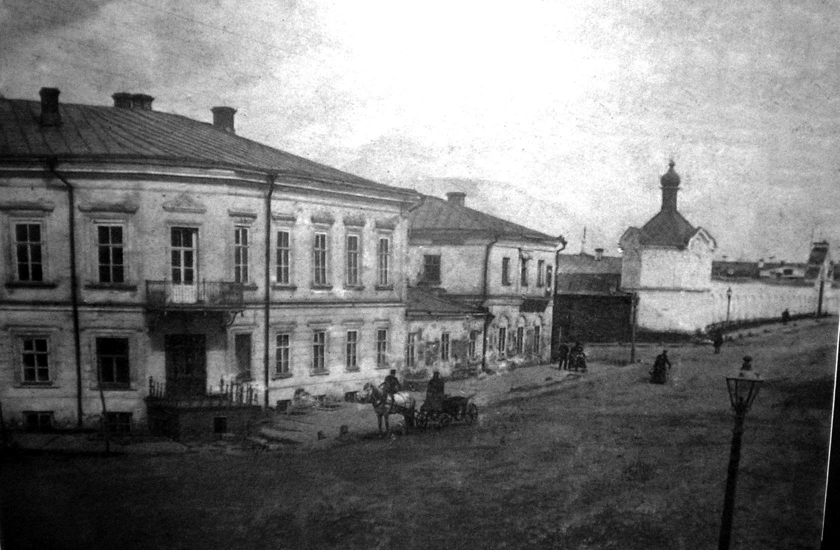 1860-е. Спасская улица