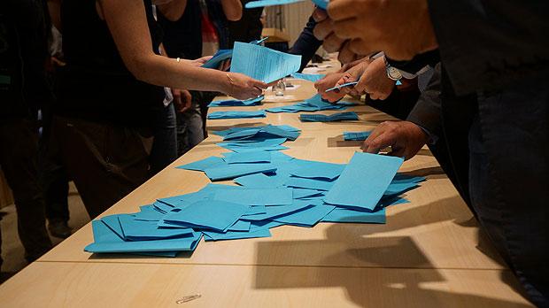 Подсчет голосов после публичных слушаний. Фото: Дела.ру