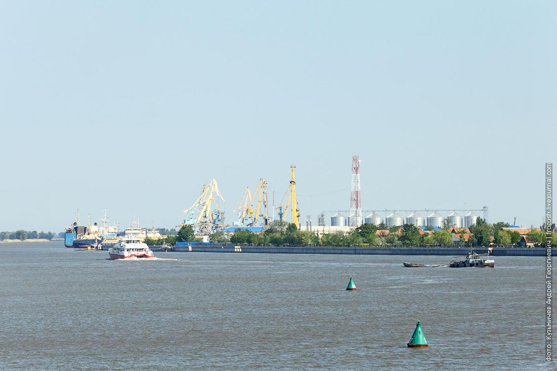 порт Оля на теплоходе Русь Великая в Казахстан