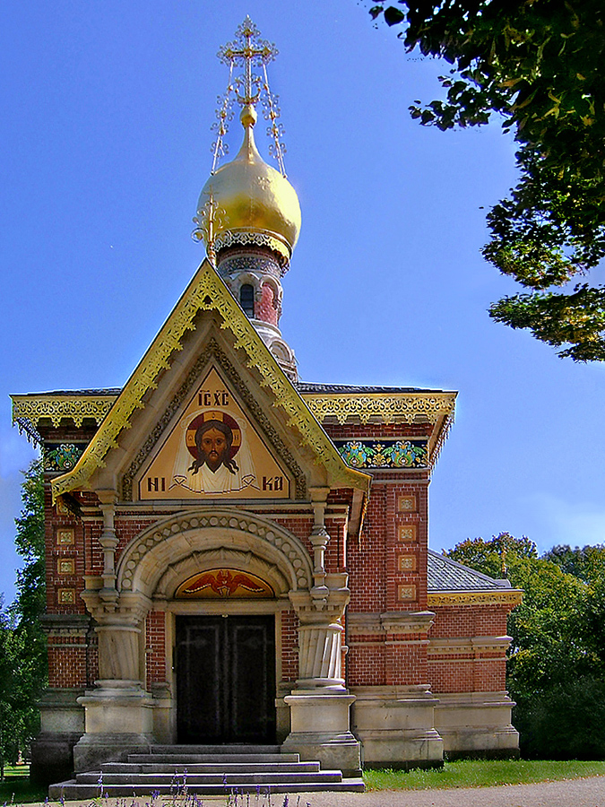 Bad Homburg Russische Kapelle .jpg Церковь Всех Святых (Бад-Хомбург)