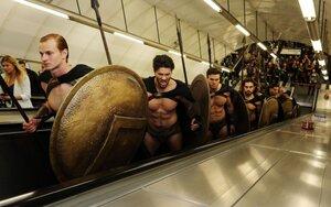 Спартанцы в метро