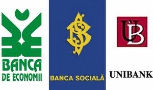 Решается судьба трёх крупнейших банков Молдовы