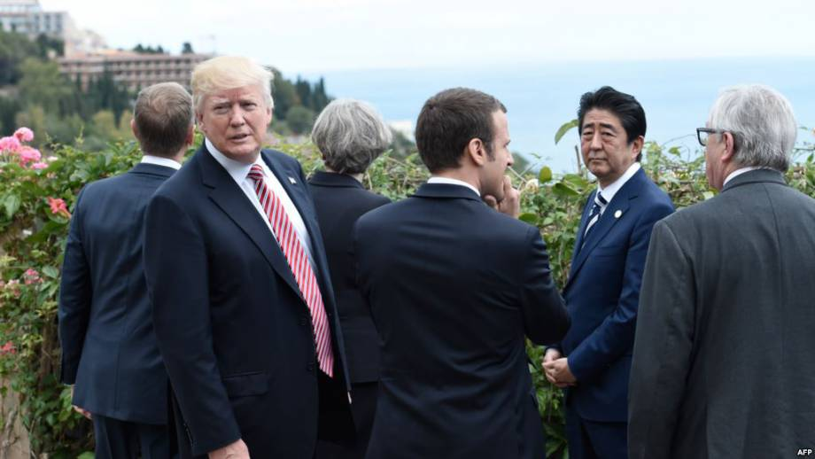 Лидеры стран «Группы семи» не смогли урегулировать разногласия относительно изменений климата