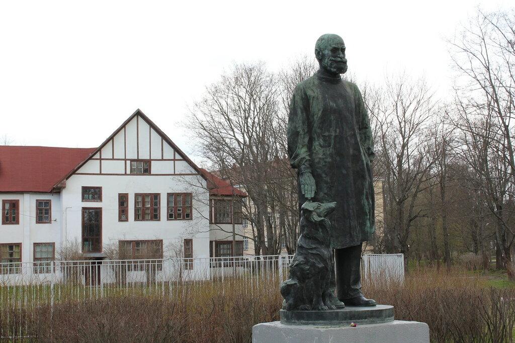 Колтуши. Памятник Павлову