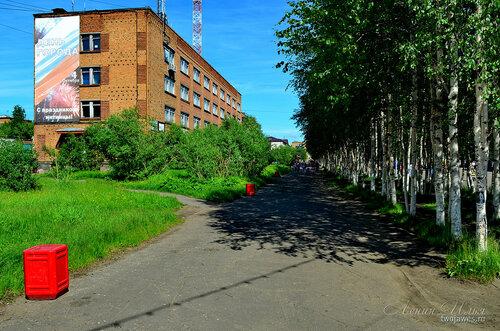 Фотография Инты №7706  Юго-западный угол Горького 12 (бывший
