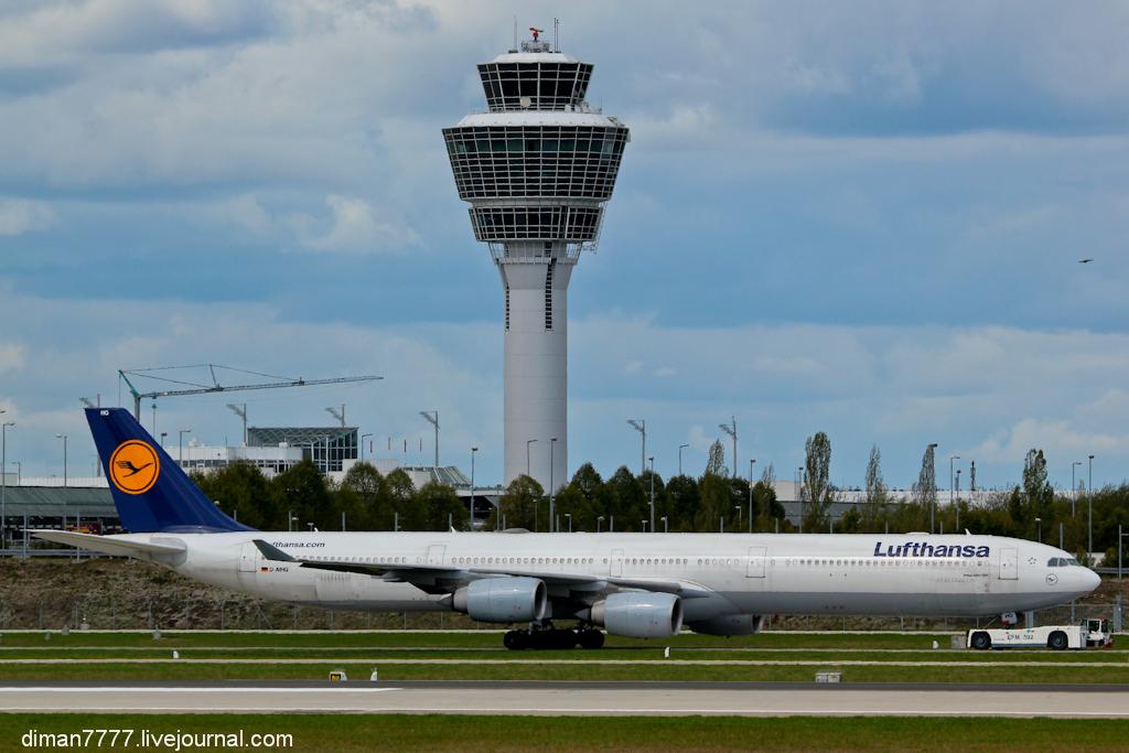 Хороший день в аэропорту Мюнхена
