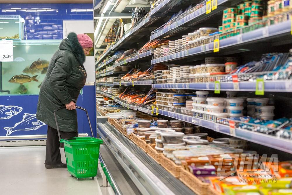 Настоящие доходы нижегородцев уменьшились практически на7%