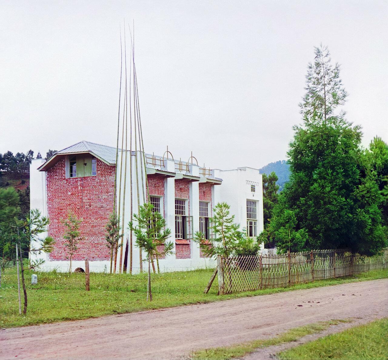 Окрестности Батума.  Чаква. Бамбуковая мастерская