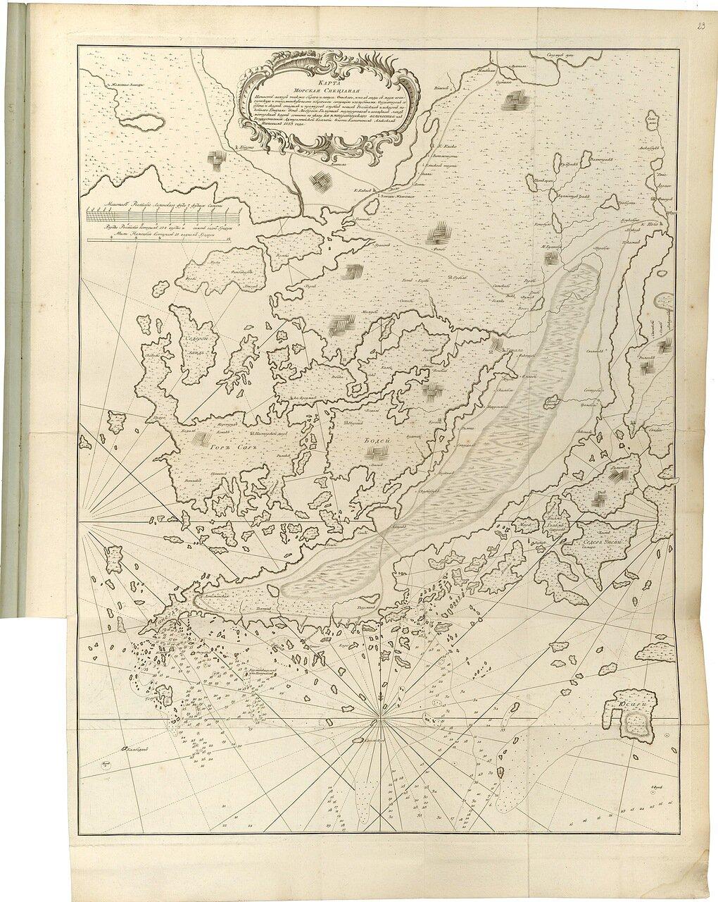 09.  Карта морская специальная