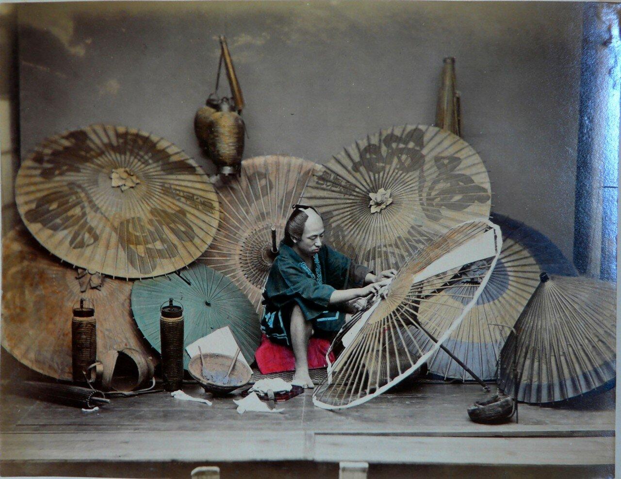 Изготовление зонтиков