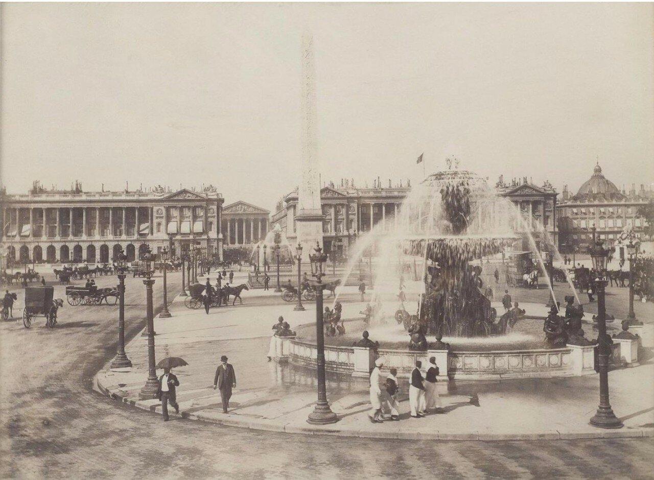 1885. Площадь Согласия